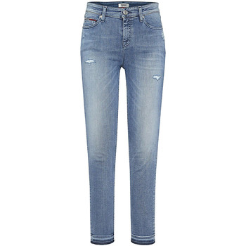 textil Dame Jeans - boyfriend Tommy Hilfiger DW0DW05011 Blå