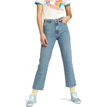textil Dame Lige jeans Wrangler W238GF Blå