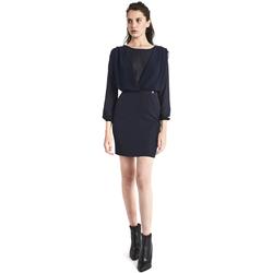 textil Dame Korte kjoler Gaudi 821BD15021 Blå