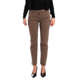 textil Dame Chinos / Gulerodsbukser Gaudi 821BD25003 Brun