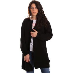 textil Dame Veste / Cardigans Gaudi 821BD53024 Sort
