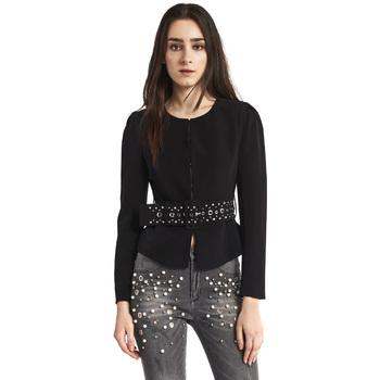 textil Dame Jakker / Blazere Gaudi 821FD35004 Sort