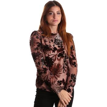 textil Dame Toppe / Bluser Gaudi 821FD45007 Lyserød