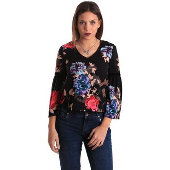 textil Dame Toppe / Bluser Gaudi 821FD45009 Sort
