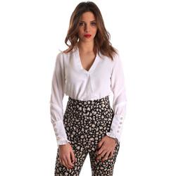 textil Dame Toppe / Bluser Gaudi 821FD45014 hvid