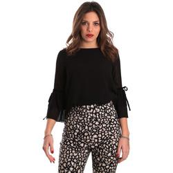 textil Dame Toppe / Bluser Gaudi 821FD45036 Sort