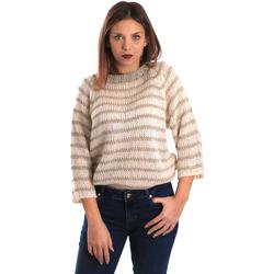 textil Dame Pullovere Gaudi 821FD53040 Beige