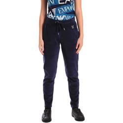 textil Dame Træningsbukser Emporio Armani EA7 6ZTP87 TJN9Z Blå