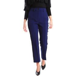 textil Dame Chinos / Gulerodsbukser Denny Rose 821DD20001 Blå