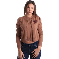 textil Dame Veste / Cardigans Denny Rose 821DD50100 Beige