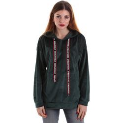 textil Dame Sweatshirts Key Up 5CS91 0001 Grøn