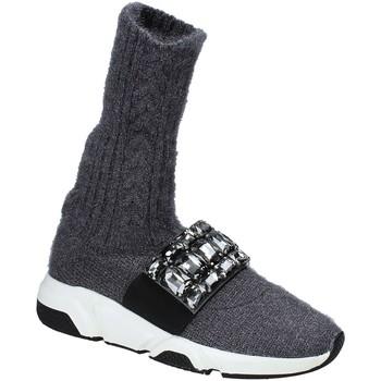 Sko Dame Høje sneakers Studio Italia BLANCHE 08 Grå