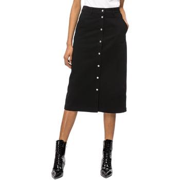 textil Dame Nederdele Calvin Klein Jeans J20J208502 Sort