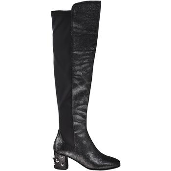 Sko Dame Chikke støvler Elvio Zanon I5504G Sort