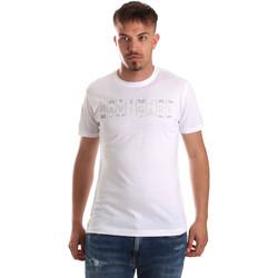 textil Herre T-shirts m. korte ærmer Navigare NV31081 hvid
