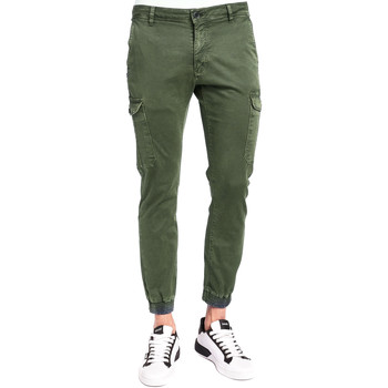 textil Herre Cargo bukser Gaudi 921BU25011 Grøn