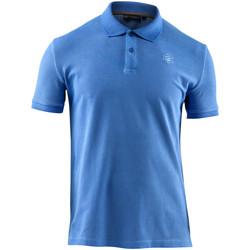 textil Herre Polo-t-shirts m. korte ærmer Lumberjack CM45940 007 516 Blå