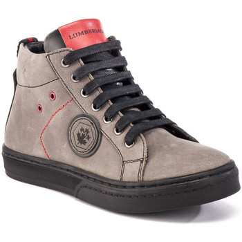 Sko Børn Høje sneakers Lumberjack SB28705 010 B03 Grå