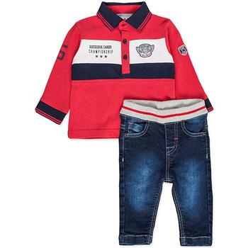 textil Dreng Sæt Losan 827-8032AC Rød