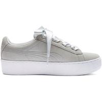 Sko Pige Lave sneakers Puma 367643 Grå
