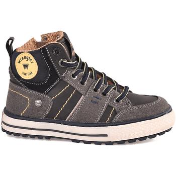 Sko Børn Høje sneakers Wrangler WJ18213 Sort