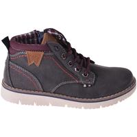 Sko Børn Høje sneakers Wrangler WJ18211 Sort