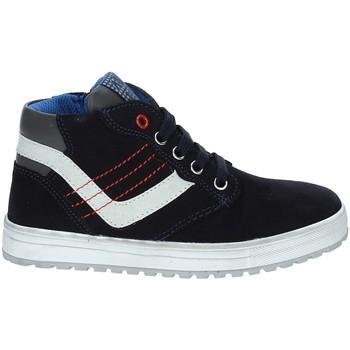 Sko Børn Høje sneakers Asso 68709 Blå