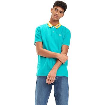 textil Herre Polo-t-shirts m. korte ærmer Tommy Hilfiger DM0DM06022 Blå