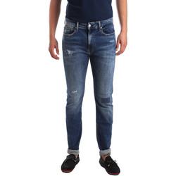 textil Herre Smalle jeans Calvin Klein Jeans J30J311691 Blå