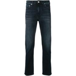 textil Herre Smalle jeans Calvin Klein Jeans J30J311732 Blå
