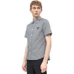textil Herre Skjorter m. korte ærmer Calvin Klein Jeans J30J311492 hvid
