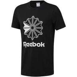 textil Herre T-shirts m. korte ærmer Reebok Sport DT8171 Sort