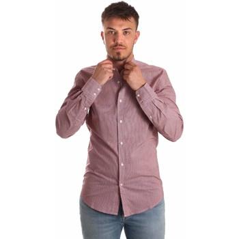 textil Herre Skjorter m. lange ærmer Antony Morato MMSL00526 FA430360 Rød