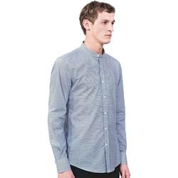 textil Herre Skjorter m. lange ærmer Antony Morato MMSL00526 FA430360 Blå