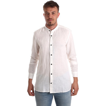 textil Herre Skjorter m. lange ærmer Antony Morato MMSL00547 FA400051 hvid