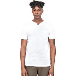 textil Herre T-shirts m. korte ærmer Antony Morato MMKS01487 FA100139 hvid
