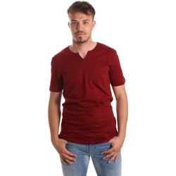 textil Herre T-shirts m. korte ærmer Antony Morato MMKS01487 FA100139 Rød