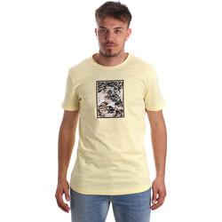 textil Herre T-shirts m. korte ærmer Antony Morato MMKS01551 FA100144 Gul