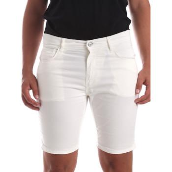 textil Herre Shorts Antony Morato MMSH00140 FA800109 hvid
