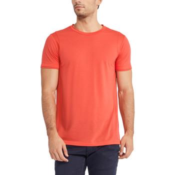 textil Herre T-shirts m. korte ærmer Gaudi 911FU64005 Rød
