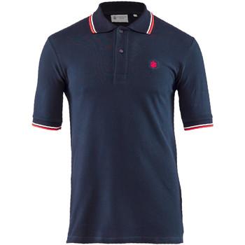 textil Herre Polo-t-shirts m. korte ærmer Lumberjack CM45940 004 506 Blå