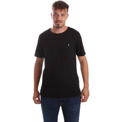 textil Herre T-shirts m. korte ærmer Navigare NV31069 Sort