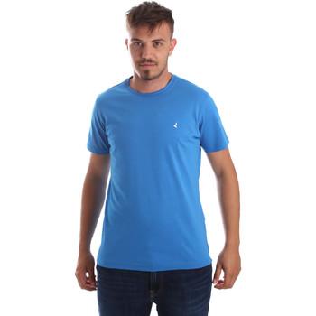 textil Herre T-shirts m. korte ærmer Navigare NV31069 Blå