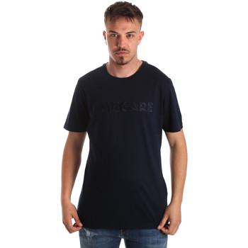 textil Herre T-shirts m. korte ærmer Navigare NV31070 Blå