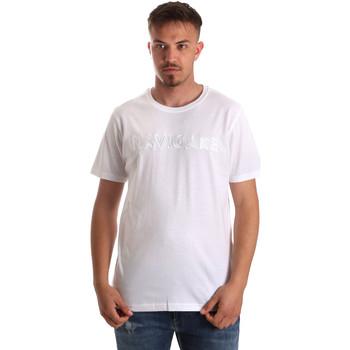 textil Herre T-shirts m. korte ærmer Navigare NV31070 hvid