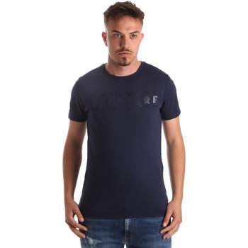 textil Herre T-shirts m. korte ærmer Navigare NV31081 Blå