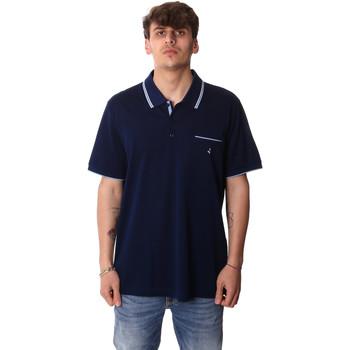 textil Herre Polo-t-shirts m. korte ærmer Navigare NV72045AD Blå