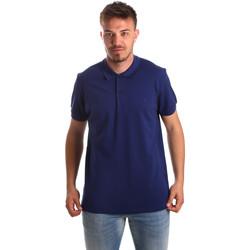 textil Herre Polo-t-shirts m. korte ærmer Navigare NV82001AD Blå