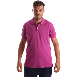 textil Herre Polo-t-shirts m. korte ærmer Navigare NV82086 Lyserød