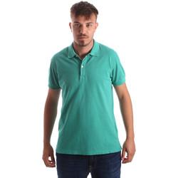 textil Herre Polo-t-shirts m. korte ærmer Navigare NV82086 Grøn